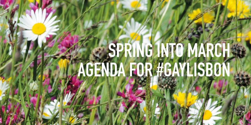 March Agenda for GayLisbon