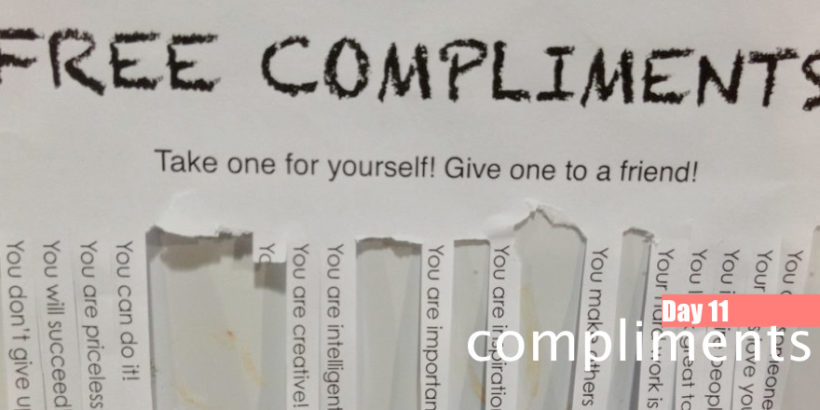 Day 11: Compliments