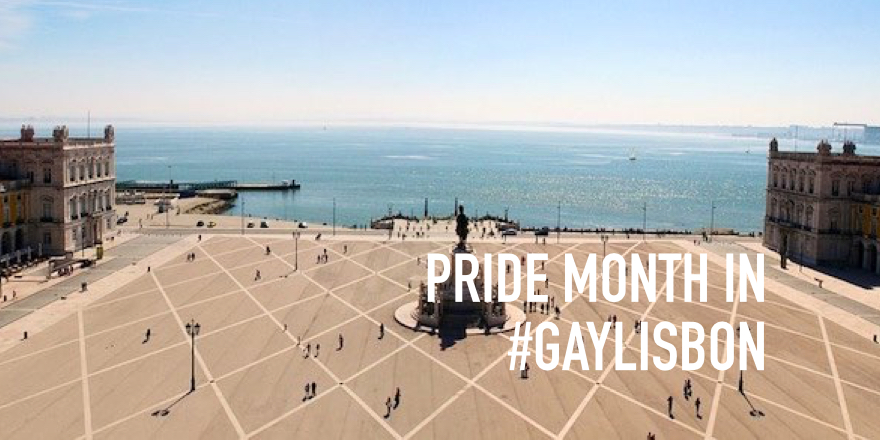 Agenda for Pride month June in GayLisbon