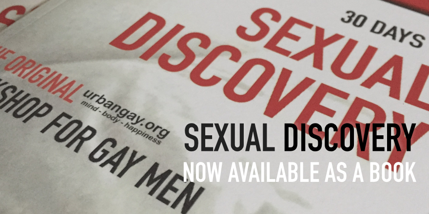 Sexual Discovery – now available as a book