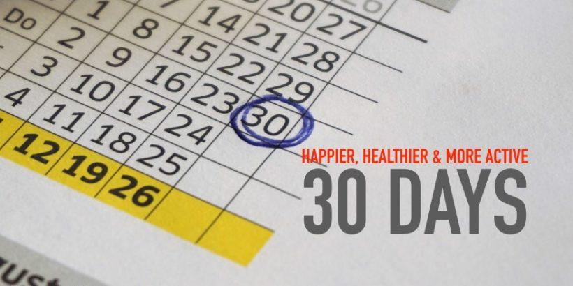 Happier, Healthier & more Active!