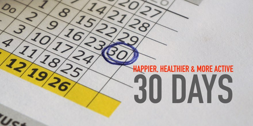Happier, Healthier & more Active!