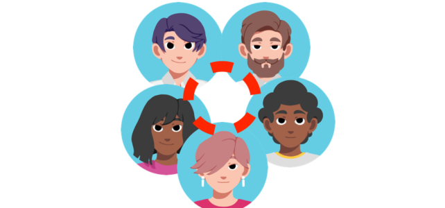 connect with people around you